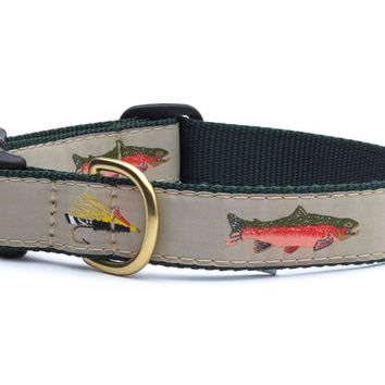 Up Country Fly Fishing Dog Collar