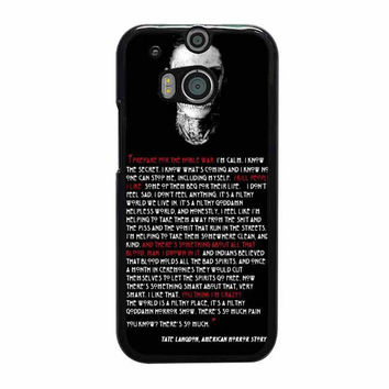 tate langdon evan peters htc one cases m8 m9 xperia ipod touch nexus