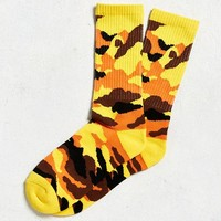Colorful Camo Sport Sock | Urban Outfitters