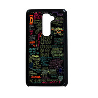 one direction song LG G2 Case