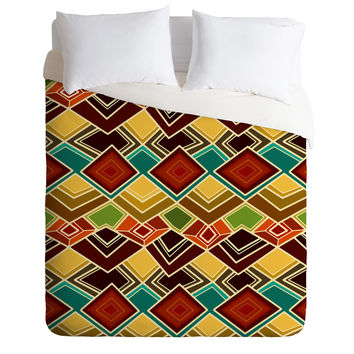 Sharon Turner Raffia Duvet Cover
