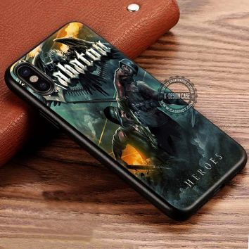 Art of War Heroes Sabaton iPhone X 8 7 Plus 6s Cases Samsung Galaxy S8 Plus S7 edge NOTE 8 Covers #iphoneX #SamsungS8