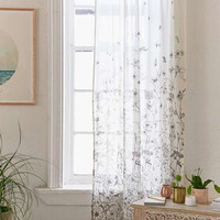 Plum & Bow Margot Floral Curtain - Urban Outfitters