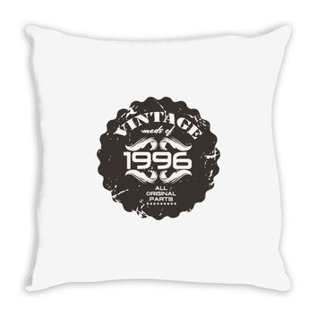 vintage made of 1996 all original parts Throw Pillow