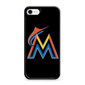 MIAMI MARLINS BASEBALL LOGO BLACK iPhone 6 | iPhone 6S case