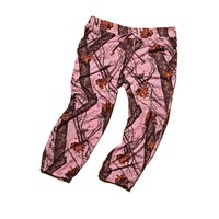 Wilderness Dreams Women's Camo Capri - Mossy Oak Pink - 605235