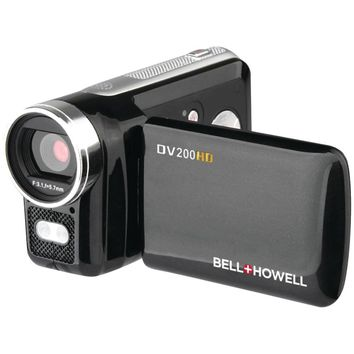 Bell+howell 5.0-megapixel Dv200hd 720p Hd Digital Video Camcorder