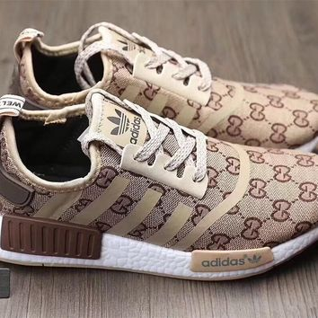 Adidas x Gucci x Louis Vuitton x Supreme NMD Trending Running Sports Shoes Sneakers