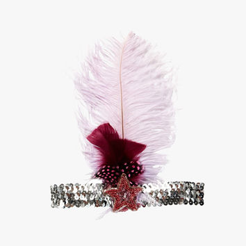Tutu Du Monde Higher Love Feather Headband in Fraise - TDM408 - FINAL SALE