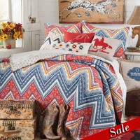 American Cowboy Quilted Bedding