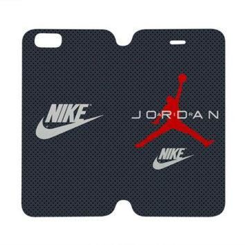 DCKL9 AIR JORDAN Michael Case Wallet iPhone 4/4S 5/5S 5C 6 Plus Samsung Galaxy S4 S5 S6 Edge