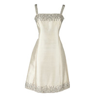 Vintage 1960's Malcolm Starr Beaded Dress