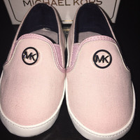 Michael Kors Baby Charese Infant Slip On Shoes Size 3