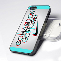 Nike Logo Go Hard Or Go Home   - Photo Design Hard Case for iPhone 4 / 4s case and iPhone 5 case. Please CHOOSE THE OPTION