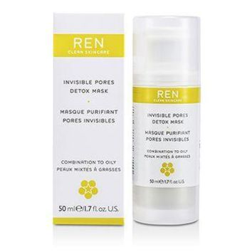 Ren Invisible Pores Detox Mask (For Combination to Oily Skin) Skincare