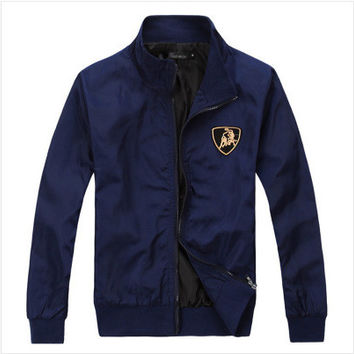 Hot Sale Men's Fashion Men Coat Embroidery Tops Jacket [6528920387]