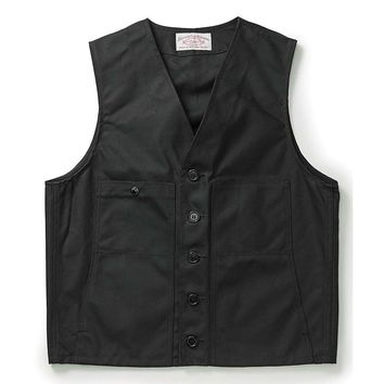 Filson Alaska Fit Oil Tin Cloth Vest - Men's