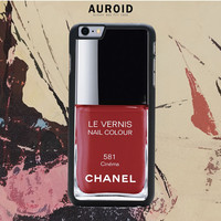 Chanel Nail Polish Cinema IPhone 6S Case Auroid