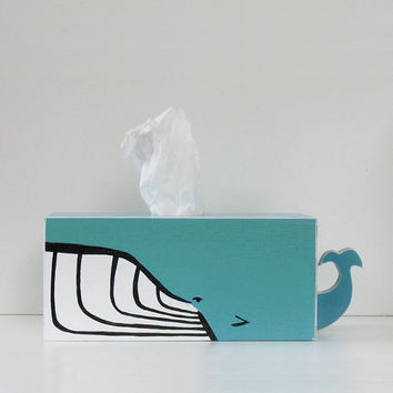 Humpback Whale Tissue Holder - Ships July 27th