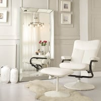 INSPIRE Q Omni Beveled Mirrored Frame Rectangular Floor Mirror | Overstock.com Shopping - The Best Deals on Mirrors