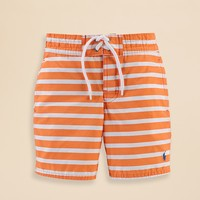 Ralph Lauren Childrenswear Boys' Stripe Sanibel Swim Trunks - Sizes 2-7