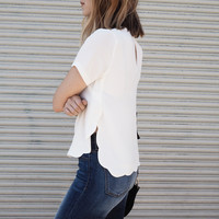 Daisy Scalloped Blouse