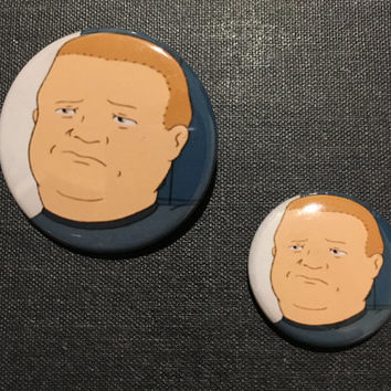 Bobby - King of the Hill - Button
