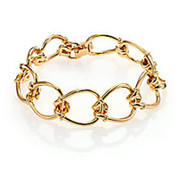 Giles & Brother - Small Cortina Loop Chain Bracelet - Saks Fifth Avenue Mobile