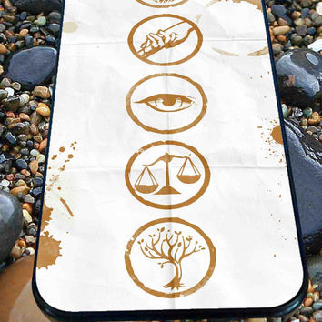 Divergent Symbols for iPhone 4/4s, iPhone 5/5S/5C/6, Samsung S3/S4/S5 Unique Case *76*