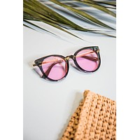 Hi There Sunnies, Black/Pink