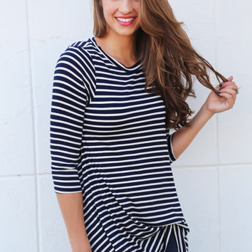 On The Other Stripe Tunic