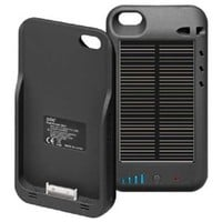 Firenew Iphone 4 External Solar Powered Battery Charger Case Brand New 2400 Mah