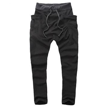 Men's Joggers Men Pants  Large pockets Sweatpants Jogger