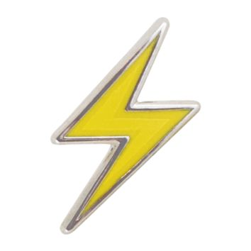 Lightning Bolt Emoji Pin