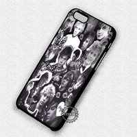 Evan Peters Collage - iPhone 7 6 Plus 5c 5s SE Cases & Covers