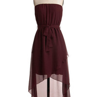 Flowing Right Along Dress