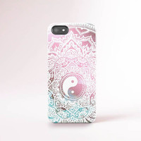 iPhone Case Yin Yang iPhone 6 Case Yin Yang iPhone 6 Tie Dye iPhone 5 Boho iPhone Case iPhone 6 Case Tough Bohemian iPhone Pastel Case