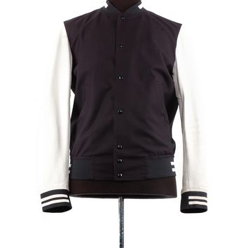 Dior Wool and Leather Varsity Jacket