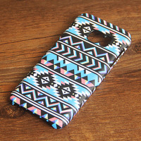 Aztec Chevron Geometric Samsung Galaxy S7 Edge S7 Case Galaxy S6 edge+ S5 S4 S3 Samsung Note 5/4/3/2 Cover S7-032