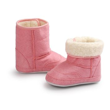 Girls Softsole Snowboots Sizes 2.5-4
