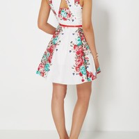 Red Flower Trail Belted Sundress | Mini Dresses | rue21