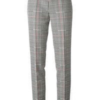 Michael Kors checked straight leg trousers