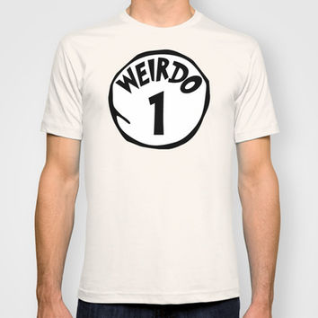 Weirdo1 T-shirt by Moop
