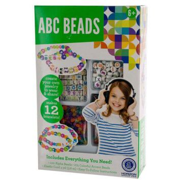 ABC Beads Bracelet Making Kit