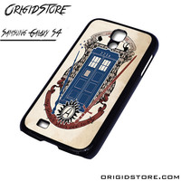tardis doctor who uss enterprise For Samsung Cases Phone Covers Phone Cases Samsung Galaxy S4 Case Samsung Galaxy S4 Case Smartphone Case
