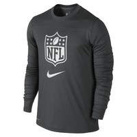 Nike Speed Long-Sleeve NFL Draft Men's Football Shirt - Anthracite