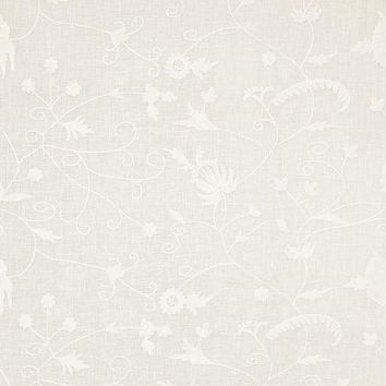 Pindler Fabric COR096-WH01 Coraline White