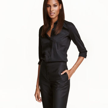 Stretch Shirt - from H&M