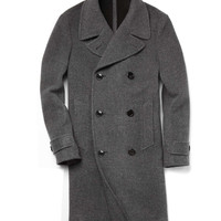 Grant Officer Coat in Charcoal