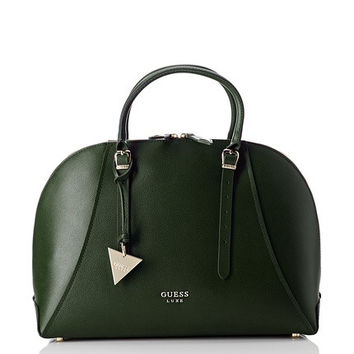 Guess Satchel Lady Luxe Dome Satchel